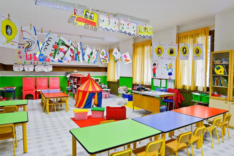 Foto scuola infanzia soave for Addobbi aula scuola infanzia